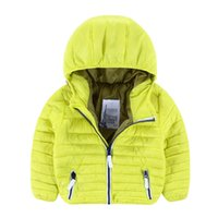 baby boy quilted jacket - color boys baby clothing Candy Color children s cotton coat quilted jacket in winter coat T