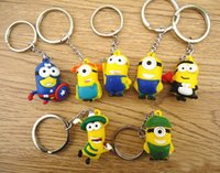 best cartoon images - 2016 Hot Despicable Images Yellow Minion Key Chains Best Gift For Fans