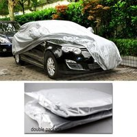 Wholesale Foldable Snow Wind Rain Dust Resistant Waterproof UV Outdoor Full Car Auto Covers Silver Exterior Accessories SZ U01