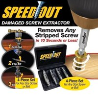 Wholesale Speed Out Screw Extractor Drill Bits Tool Set Broken Damaged Bolt Remover B056