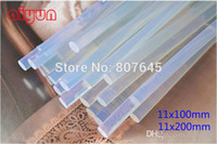 Wholesale 11mmx200mm Clear Glue Adhesive Sticks For Hot Melt Gun Car Audio Craft transparent glue gun glue stick H210409