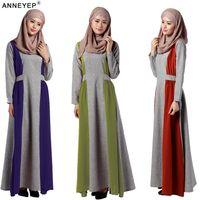 abaya garment - Ladies Hijab Abaya Kaftan Dress Modest Garment Islamische Kleidung Ladies Islamic Clothes Muslim Cotton Prayer Hijab Clothing