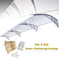 acrylic awning - Send From USA x DIY Window Awning Patio Cover Sun Shield Door Canopy Patio Outdoor