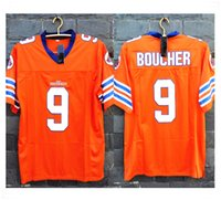 active dog - Stitched Movie the WATERBOY Adam Sandler Bobby Boucher Mud Dogs Football Jerseys Sport fashion hot sale cheap Jersey with Brand