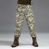 Wholesale Sale Cheap Tactical camouflage quick drying Pants Two Cut Pants Quick Drying Trousers