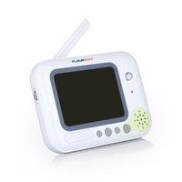 baby music radio - 3 Inch LCD Wireless Baby Radio Babysitter Digital Video Baby Monitor Audio Night Vision Music Temperature Display Radio Nanny