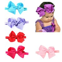 Wholesale 11 PC Kids Baby Girls Headband Toddler Infant Bowknot Headwear Hair Accessories Elastic Bowknot Photography Amazing JL