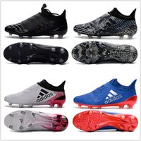 Wholesale Cheap Adidas X Purechaos FG AG Football Shoes Men Soccer Cleats Low Cut Soccer Shoes Men s Soccer Boots Size