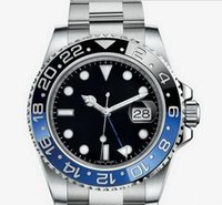 Wholesale HOT sale Christmas gift automatic top brand luxury watch stainless steel black blue dial mens Mechanical Watches