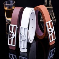 arrow leather - Mens Designer Imitation Leather Arrow Waist Strap High Quality Belts for Men Women Buckle Leisure PU leather belts