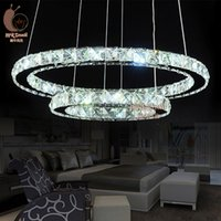 Wholesale Brushed stainless LED Contemporary stainless steel Pendant Lamp for dining room