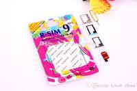 Wholesale Original R SIM RSIM9 R SIM9 Pro Perfect SIM Card Unlock Official IOS ios7 RSIM for iphone S S C GSM CDMA WCDMA G G