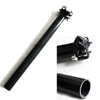 Wholesale Brand New K Full Carbon Fiber MTB Road Bike SeatPost mm mm For Bike hyse F00145 SMA
