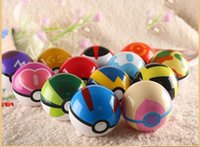 Wholesale 7cm ABS Action Anime Figures pikachu figure Style Fairy poke ball Super Ball Kids Best Christmas Gifts