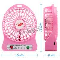 Wholesale Colorful Mini Cool Fan Handheld USB Portable Fan Emergency Fan Third Gear Rechargeable Battery Outdoor Cooling Gadget