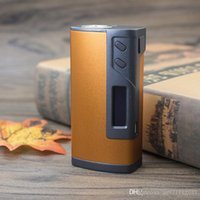 Wholesale 100 Original Sigelei Fuchai w TC Temperature Control Huge Vapor Box Mod Fuchai VS Sigelei Snowwolf Smok por