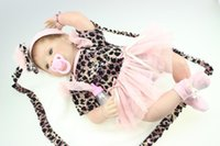 arrive alive - New Arrived Inch Gorgeous Reborn Baby Dolls Realistic Soft Silicone Reborn Baby Alive Toy Fashion Kids GIft Girls Playmate