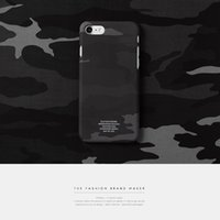 Wholesale Brand New Fashion Accessories IPhone7 mobile phone shell camouflage Apple protective cover fashion designer phone case cover luxury brand