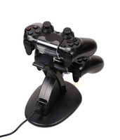 Wholesale PS3 PlayStation LED Dual USB Charging Dock Station Stand For PS3 PlayStation Game Controller Black Charger Ps4 Controllers