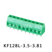 Wholesale 50Pcs x Screw Teminal Block KF128L mm KF128 KF128 MKDS MKDS1 RoHS