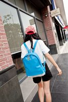 Wholesale Leisure sports women backpack PU shoulder bag travel small bag female fashion day back pack colors available
