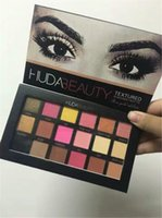 palette 18 color - New Huda Beauty Color Matte Shimmer Eye Shadow Eyeshadow Palette Waterproof Long Lasting Huda Eye Shadow