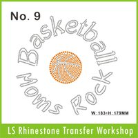 basketball shose - The Basketball Rock MOMS hot fix rhinestone DLY to iron on garment Bag Shose Custom designs will very welcome
