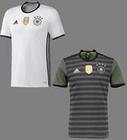 bamboo t-shirt - euro Germany home away Soccer uniform man jersey t shirts short sleeved muller shirt