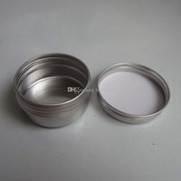 aluminum pots - 50pcs Aluminium Balm Tins Pot Jar g g g g g g g g g g Aluminum Jars Lip Balm Pots Cosmetic Container Tins