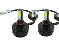Wholesale 2 Sets Universal H4 BA20D H6M Adapter W LED Motorcycle Bike Bulb Hi Lo Beam Lamp Front Light CREE White K