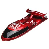 Wholesale FT012 Boat Cover Head Cover Spare Parts For FT012 G Brushless RC Boat Unit Red Black