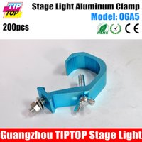 Wholesale TIPTOP200Pcs Cheap Price High Quality Stage Light Blue Aluminum Clamps Hook For Size mm Pipe Aluminum Stage Light Clamps A5