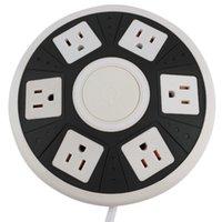 Wholesale Smart Socket Outlet UFO Shape Power Strip for Home Office Use Black white
