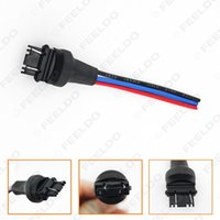 Wholesale Car W2 X16Q Lamp Bulb Male Jack Plug Connector With Wire