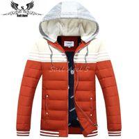 Wholesale 2016 new winter down jacket men s cotton men s fashion Korean thicker padded jacket parkas