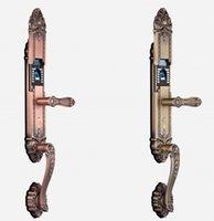 Wholesale F262 Top retro locks electronic locks for doors keypad door padlock electronic door lock Biometric fingerprint lock Intelligent door lock