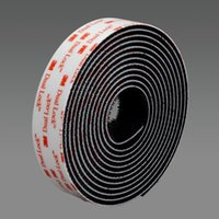 Wholesale M Tape Reclosable Fastener SJ3551 self adhesive double sided dual lock tape Black acrylic in oY roll die cut tape