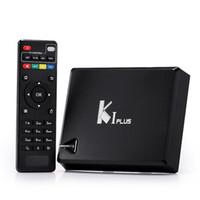 Wholesale k1 Plus Android S905 TV Box GB GB Quad Core K Android Media Player Kodi Fully Loaded Smart TV BOX