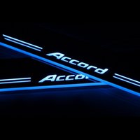 accord door sill - Auto accessories LED door sill Moving Sill Plate for Honda ACCORD front door sill The front door on the left pedal
