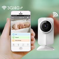 Machines à sous vidéo France-New Wireless IP Wifi Baby Monitor vidéo 720P Caméra bébé fente eletronic Night Vision TF pour iPhone Android PC Livraison gratuite