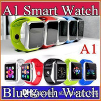 apple supports - 25X Smart Watch Bluetooth DZ09 A1 U8 Smartwatch Apple iWatch Support SIM TF Card Smart Wrist Watches With Silicone Strap Smartphone F BS