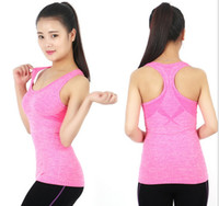 baseball training tee - gym Sports TShirt women sports vest Yoga Workout Vest Fitness Training Exercise quick drying Sportswear Tee Tank Tops Singlets Clothes