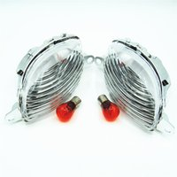 Wholesale Motorcycle Clear Front Turn Signals Headlight Indicator Blinker GSXR Hayabusa