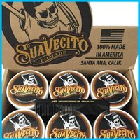 Wholesale Suavecito Pomade Gel oz Strong Style Restoring Ancient Ways is Big Skeleton Hair Slicked Back Hair Oil Wax Mud