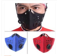 Wholesale New Fashion Anti dust Heath Care Training Mask Outdoor Sports Mouth Mask City Dust Mask Motorcycle Cycling Masks Filter color