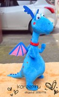 baby clinic - Doc Mcstuffins Clinic Plush Toys Blue Dragon Soft Stuffed Animal Dolls Baby Toys Gifts for Children CM