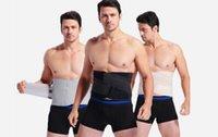 Wholesale 2016 Men s Waist Training Corsets Reduce Weight Men Belt Waistband Burning Fat Corset Belts Body Shaper Waist Cincher