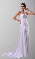 beach wedding decoration pictures - Elegant Sweetheart Tierd Chiffon Lace Appliqes Decorations Mature Ladies Beach Wedding Dresses Low Price With High Quality