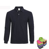 Wholesale 2016 Summer crocodil Men Polos Solid Shirt Long sleeve Polos Shirts Fashion costing Slim Clothintg casual shirt