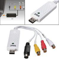 ap dvd - USB2 Video TV Tuner DVD Audio Capture Card Converer Adapter for Win7 AP